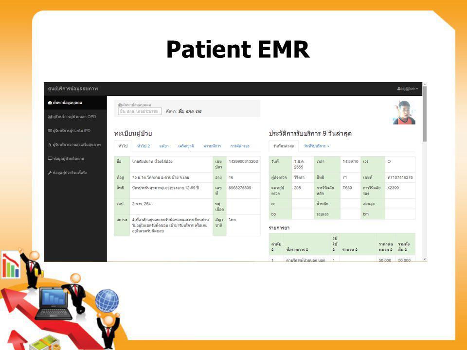 Patient EMR