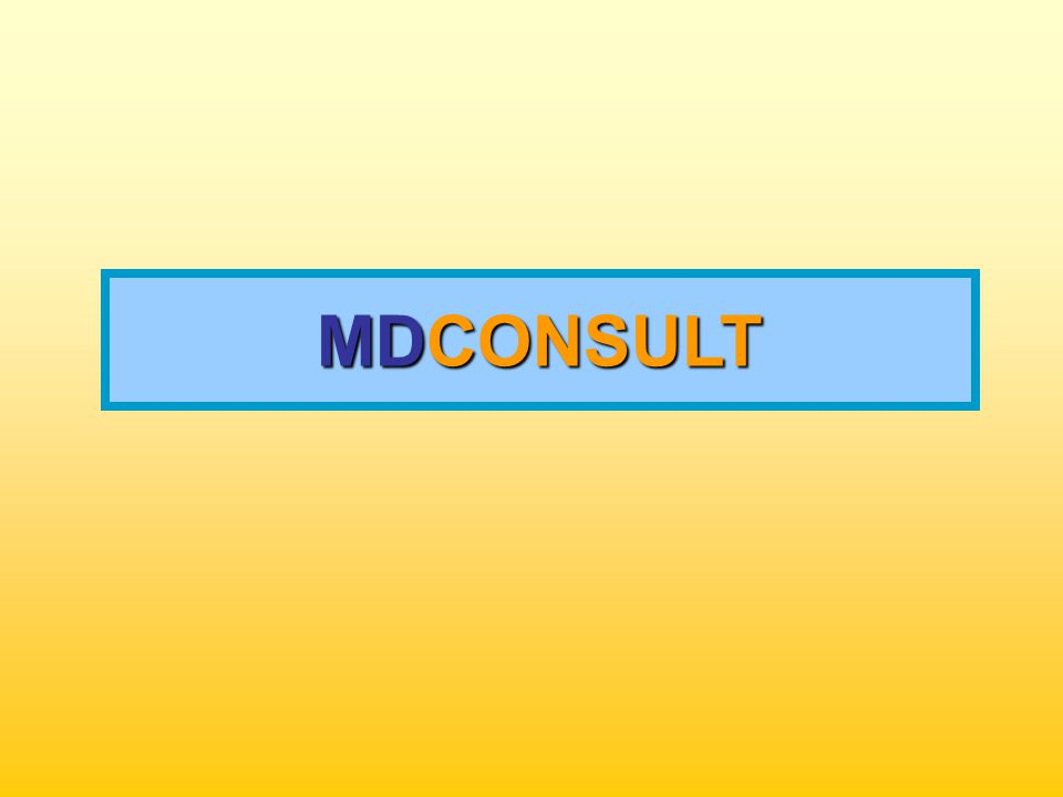MDCONSULT