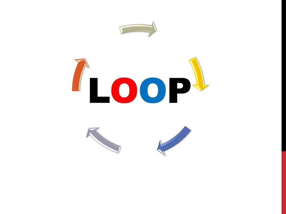 LOOP คืออะไร .