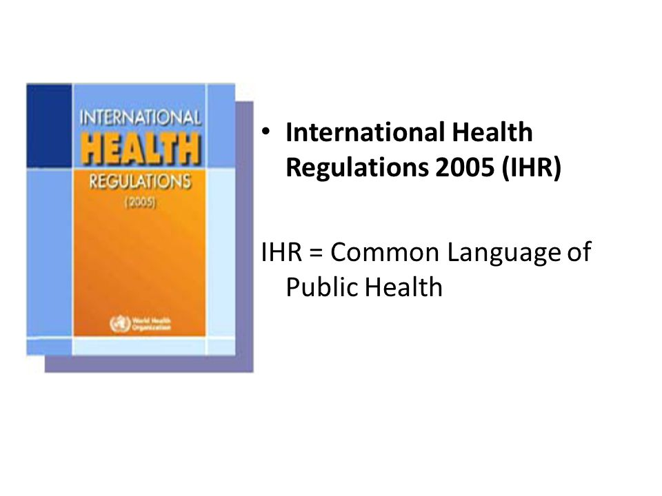 Major Issues PHEIC (Annex 2) – Public Health Emergency of International Concern Exchange Information – members countries in article 44, when request Extend to cover all major hazards WHA Recommendation, urged – to ensure all member states to meet the requirement, regulations ….in 2 years – if extend Ensure 24/7 coordination with member state, through NFP.
