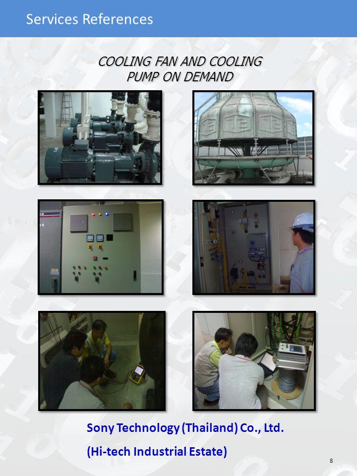 Services References AHU CONTROL ON DEMAND HANA Semiconductor(Ayutthaya) Co., Ltd.