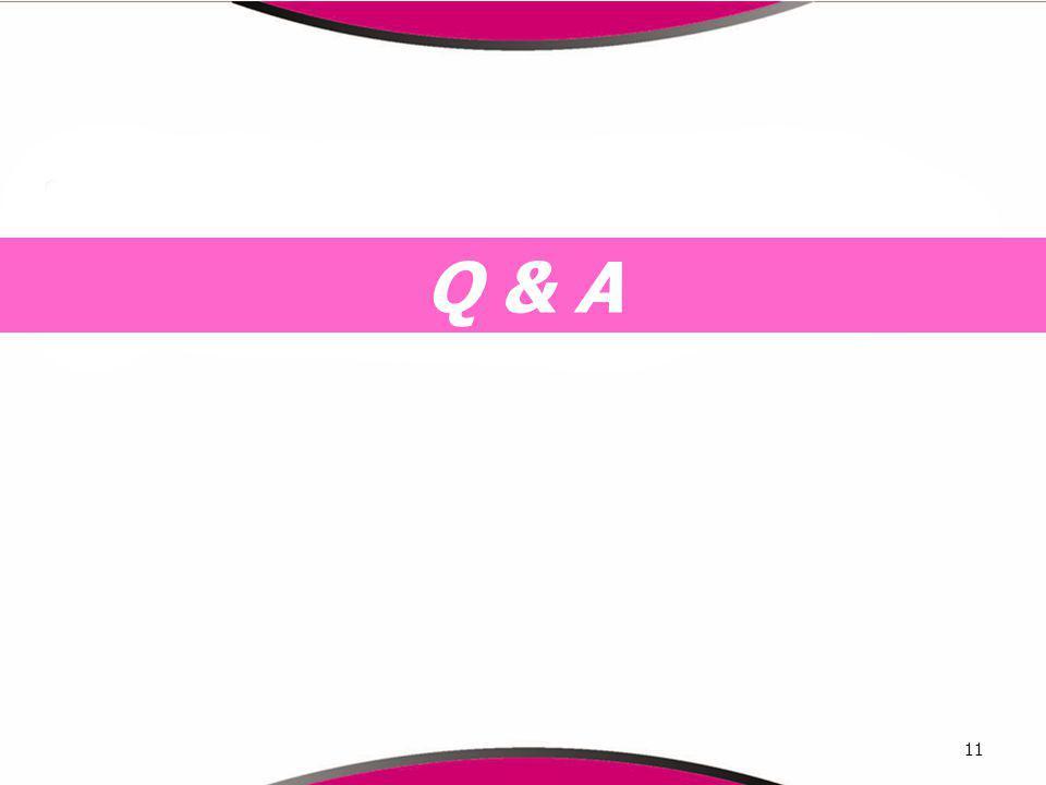 Q & A 11