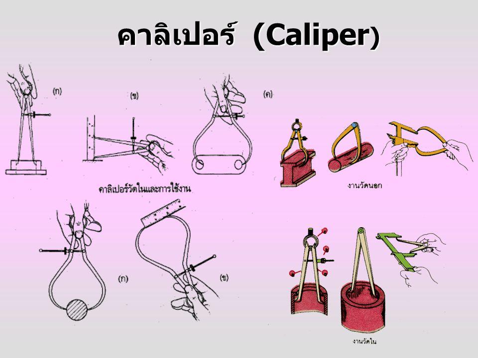 คาลิเปอร์ (Caliper )