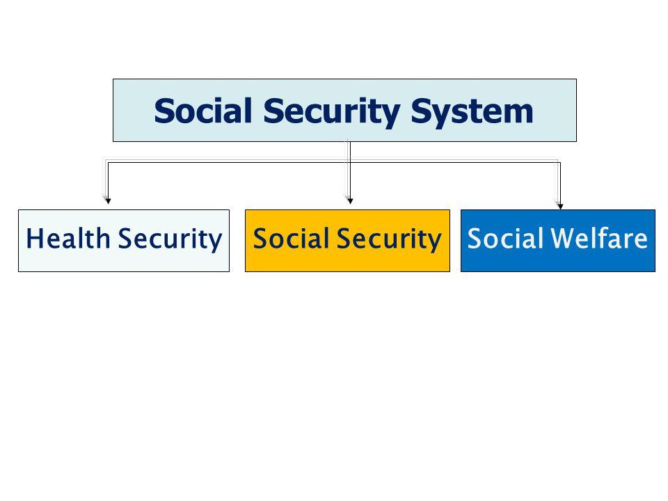 Social Security System Health SecuritySocial SecuritySocial Welfare