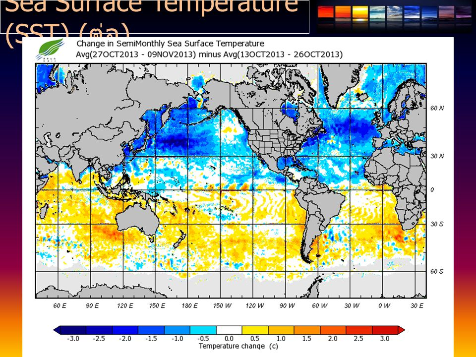 Sea Surface Temperature (SST) ( ต่อ )