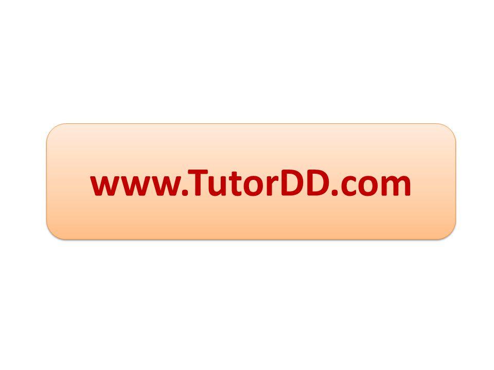 www.TutorDD.com