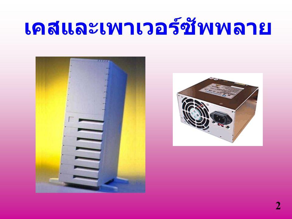 การเลือกซื้อ Case Power Supply 1.รูปลักษณ์ ภายนอก 2.