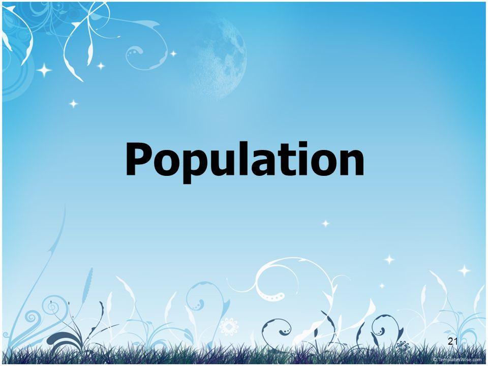 21 Population