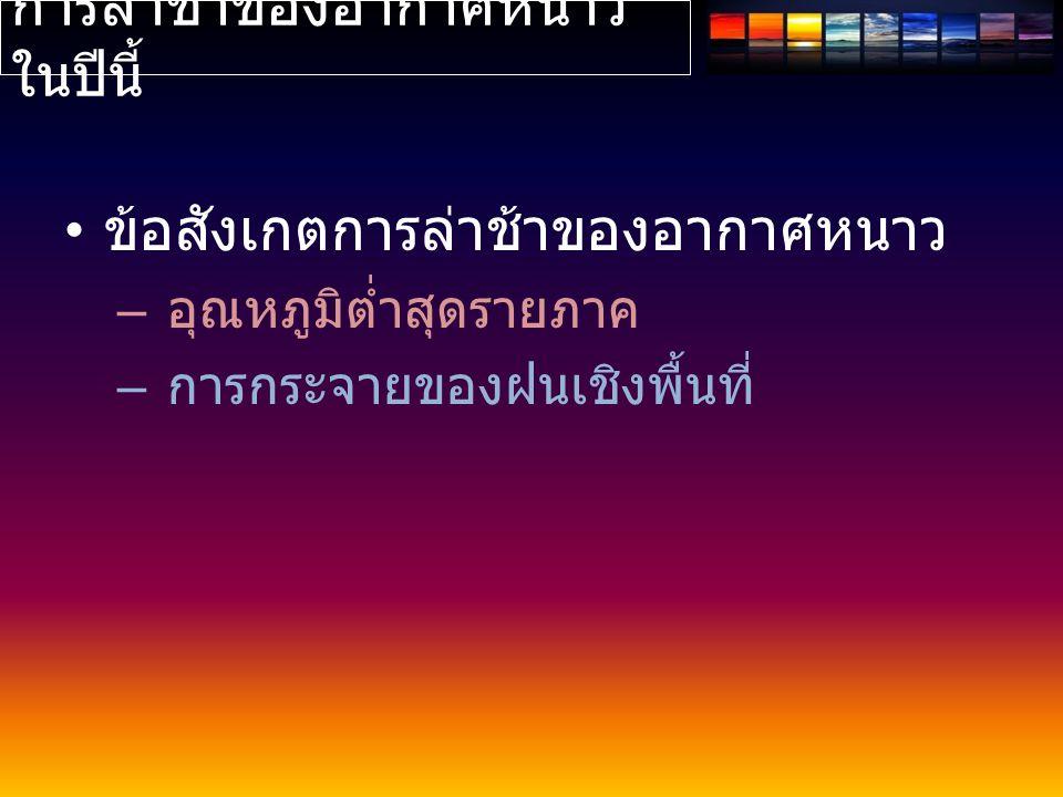 อุณหภูมิต่ำสุดรายภาค 141516171819202122 N19.2 18.