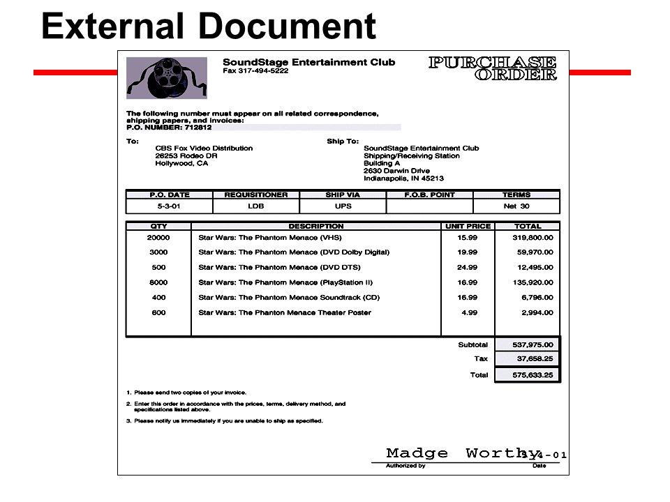 External Document