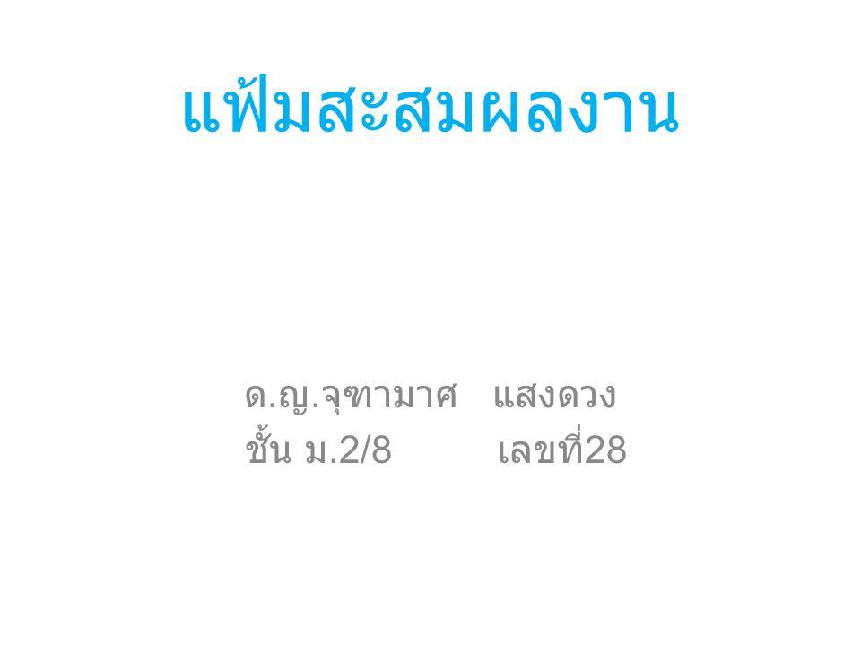 ประวัติส่วนตัว เด็กหญิง จุฑามาศ แสงดวง 17 พฤศจิกายน 2543 ที่อยู่ ค่ายเสนาณรงค์ ตำบล คอหงส์ อำเภอ หาดใหญ่ จังหวัด สงขลา เบอร์โทร 0841983327 อีเมล์ creamlove37@hotmail.comcreamlove37@hotmail.com Facebook Jutamas Saengdung