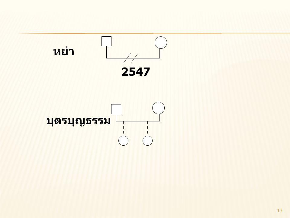 หย่า 2547 บุตรบุญธรรม 13