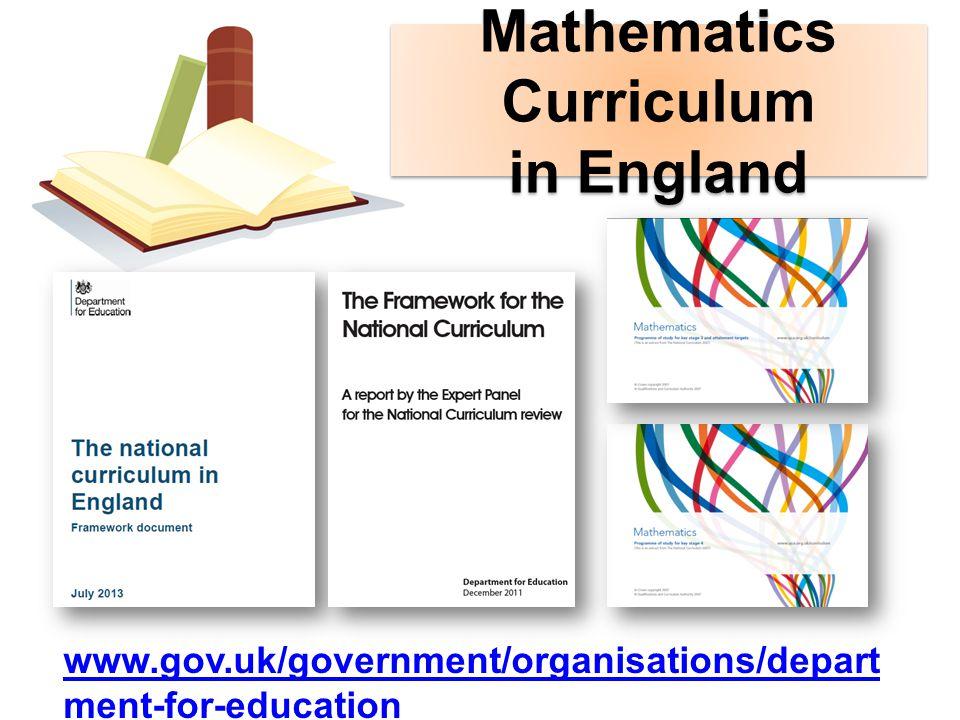 Curriculum รูปแบบการศึกษา โครงสร้างและองค์ประกอบ หลักสูตร โครงสร้างและองค์ประกอบ หลักสูตร หลักสูตรคณิตศาสตร์ของประเทศ อังกฤษ หลักสูตรคณิตศาสตร์ของประเทศ อังกฤษ วัตถุประสงค์ของหลักสูตร ลักษณะของหลักสูตร