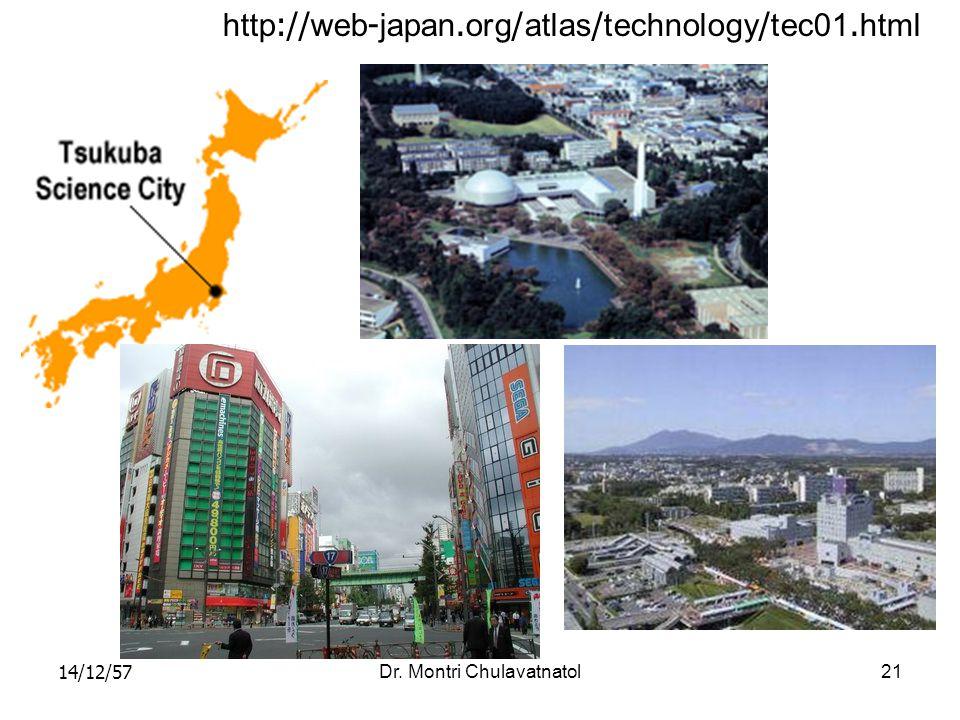 14/12/57Dr. Montri Chulavatnatol21 http://web-japan.org/atlas/technology/tec01.html