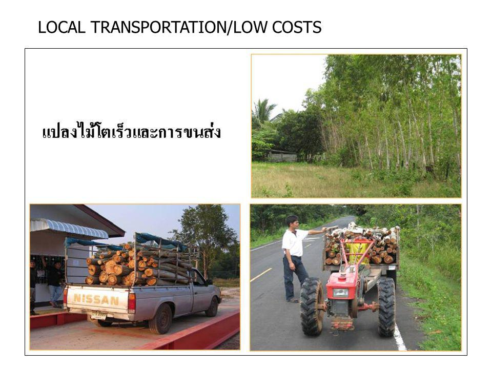 LOCAL TRANSPORTATION/LOW COSTS