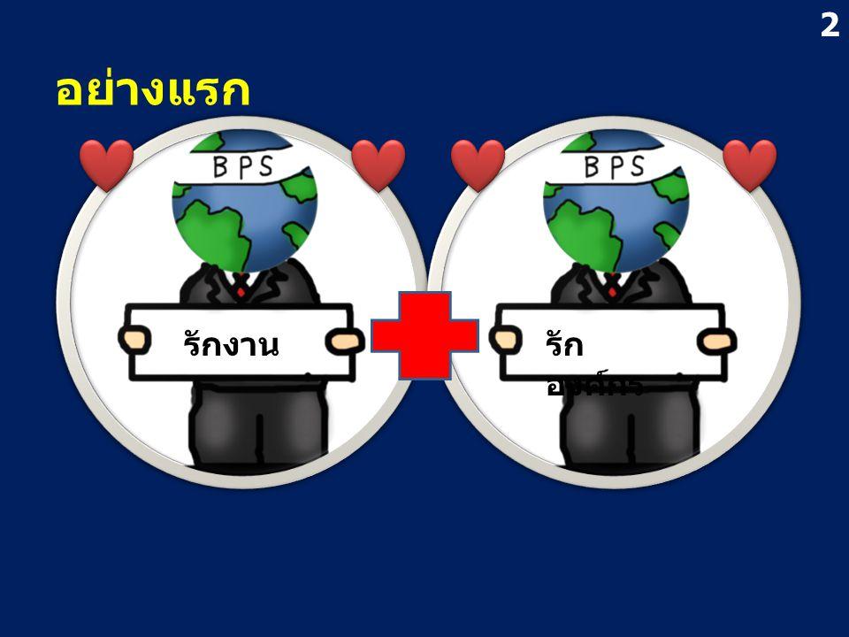 อย่างแรก รักงานรัก องค์กร 2