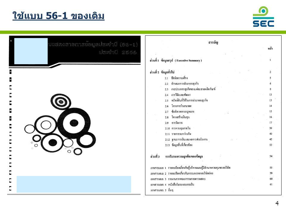 15 โครงการจัดการ : เปิดเผยรายชื่อผู้บริหาร 4 รายแรก ไม่ตรง กับ organization chart ฝ่ายบัญชี และการเงิน ฝ่ายบัญชี และการเงิน คณะกรรมการบริษัท HHH คณะกรรมการบริหาร คณะกรรมการ ตรวจสอบ คณะกรรมการ ดูแลกำกับกิจการที่ดี รองประธาน ประธานบริหาร และหัวหน้าฝ่ายบริหาร ประธานอำนวยการ และหัวหน้าฝ่ายปฏิบัติการ รองประธาน หัวหน้าฝ่ายการเงิน และผู้อำนวยการฝ่ายข้อมูล คณะกรรมการสรรหา คณะกรรมการ บริหารความเสี่ยง รองประธาน และผู้จัดการ ทั่วไป โรงงานลำพูน ฝ่ายบัญชี และการเงิน ฝ่ายบัญชี และการเงิน ผู้จัดการ อาวุโสฝ่าย บัญชี และการเงิน ผู้อำนวยการฝ่าย คอมพิวเตอร์ และสาระสนเทศ ฝ่าย Corporate Affairs รองประธาน และผู้จัดการ ทั่วไปโรงงาน อยุธยา รองประธาน และผู้จัดการ ทั่วไป โรงงานจีน รองประธาน และผู้จัดการ ทั่วไป โรงงานลพบุรี หน่วยตรวจสอบภายใน ตัวอย่างการเปิดเผยที่ไม่ดี