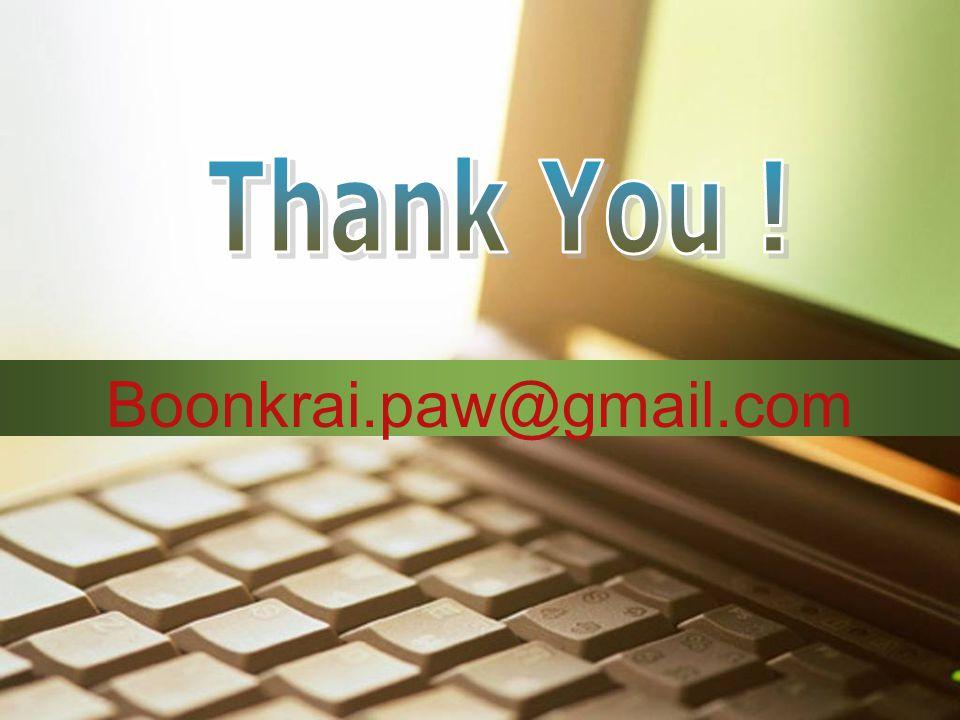 Boonkrai.paw@gmail.com