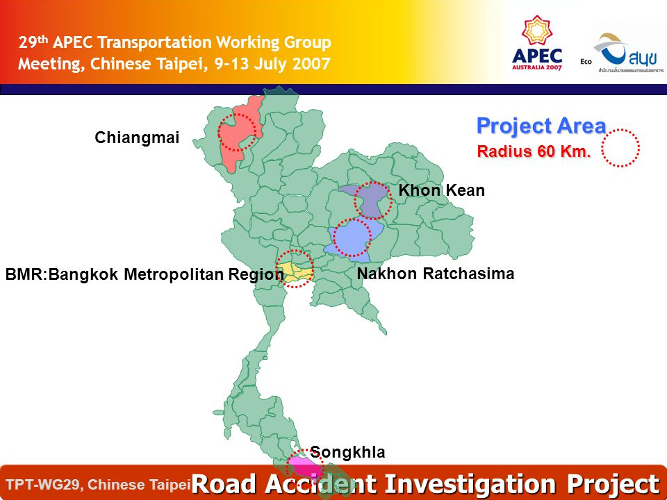 Analysis Program Road Accident Investigation Project TPT-WG29, Chinese Taipei