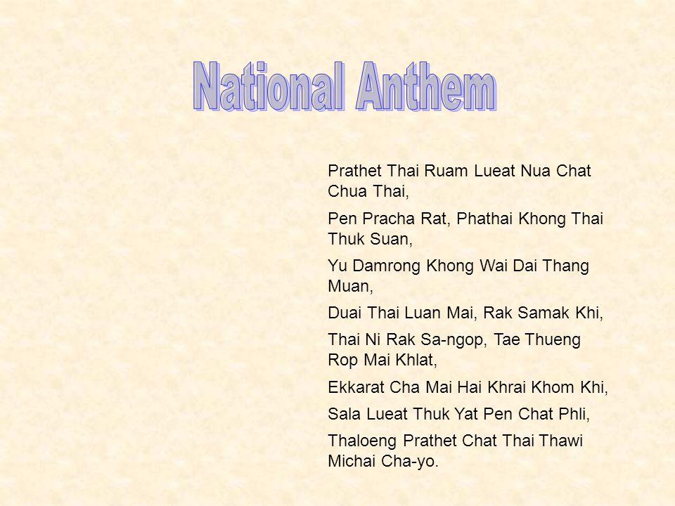 Prathet Thai Ruam Lueat Nua Chat Chua Thai, Pen Pracha Rat, Phathai Khong Thai Thuk Suan, Yu Damrong Khong Wai Dai Thang Muan, Duai Thai Luan Mai, Rak