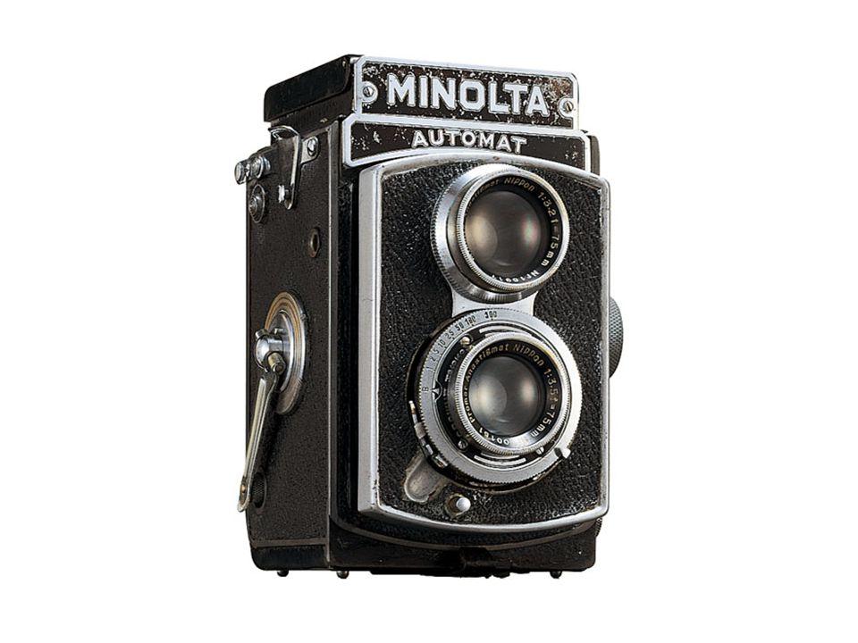 3. กล้องรีเฟล็กซ์ (Reflex Camera) 3.1 แบบเลนส์คู่ (Twin Lens Reflex) บางครั้งอาจเรียกว่ากล้อง TLR ซึ่งเคยได้รับ ความนิยมมาก ในสมัยก่อน กล้องชนิดนี้มีเ