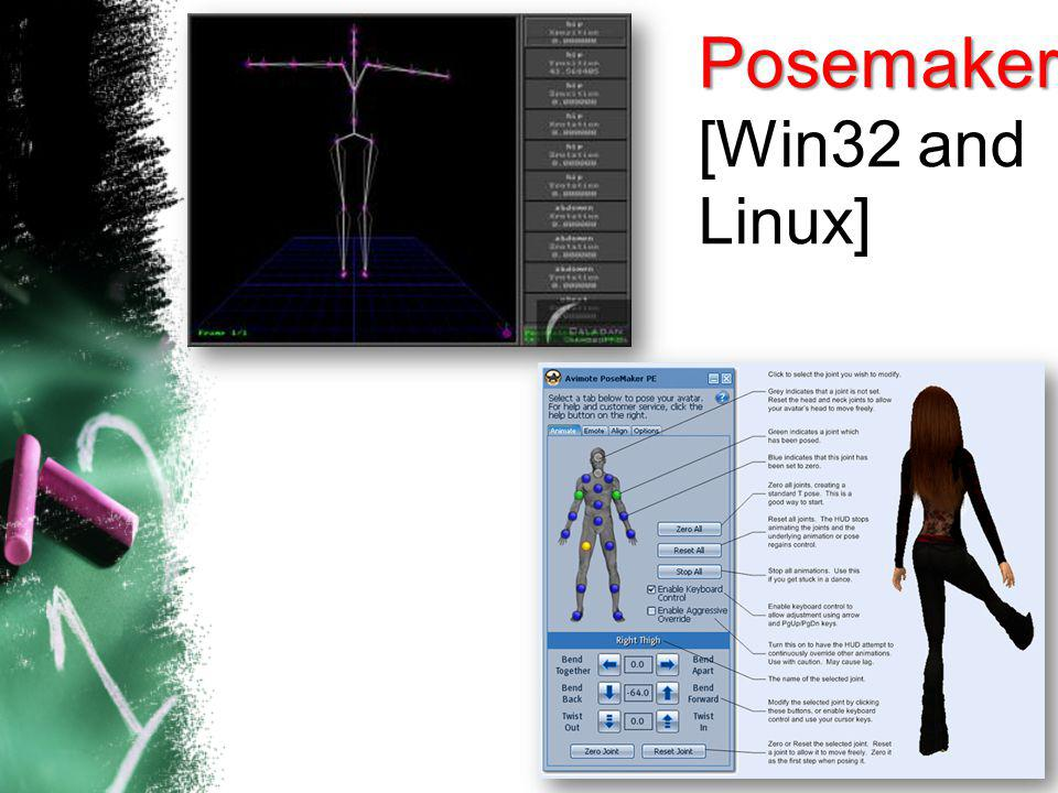 17 Posemaker [Win32 and Linux]
