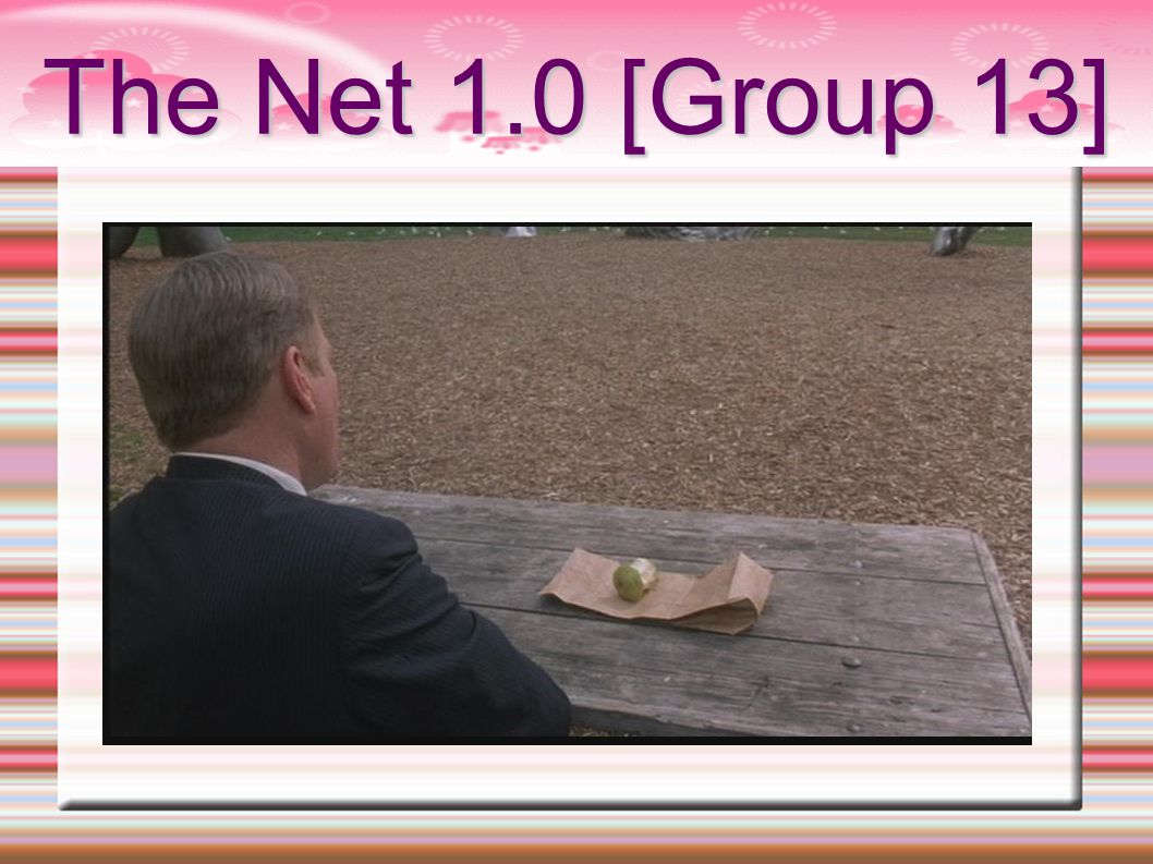 The Net 1.0 [Group 13]