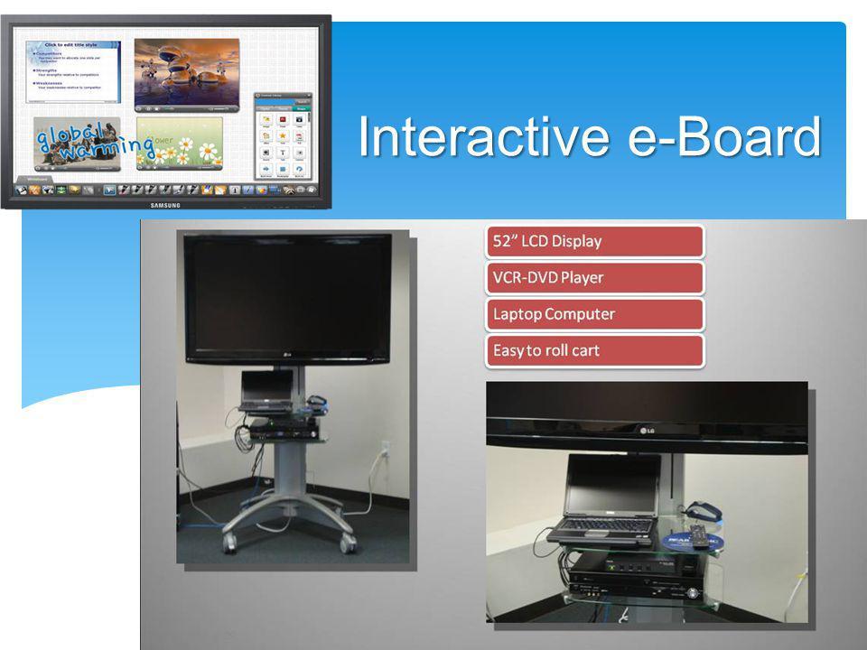 Interactive e-Board