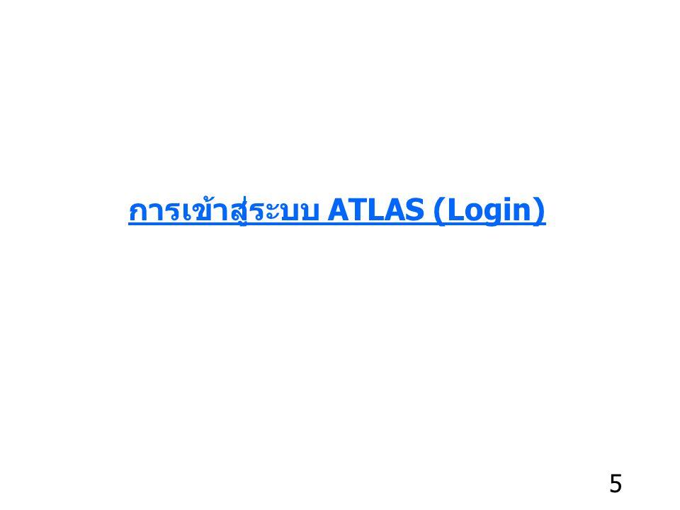 เมื่อเปิดไฟล์ โปรแกรมจะถาม Password ให้ใส่ Password เดียวกับ Password เข้าใช้งาน ATLAS เสร็จแล้วคลิก OK 66