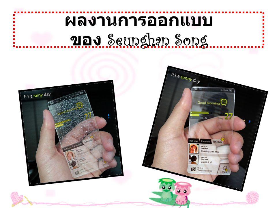 2..Mobile script Concept : แนวคิดหน้าจอระบบ สัมผัสที่สามารถดึงเข้า - ออก โดยแนวคิดโทรศัพท์มือถือร่วมสมัย เพื่อต้องการ ความคล่องตัวในการใช้งาน ด้วยหน้าจอระบบสัมผัส ขนาดใหญ่ 9.5 นิ้วที่สามารถดึง เข้า - ออกจากตัวเครื่อง ด้านข้างได้ หรือที่เรียกว่า Script Concept ซึ่งเหมือน วิธีการ ส่งสาร จดหมายสมัยโบราณ ที่ส่งเป็นลักษณะ ม้วนกระดาษ นับว่าเป็นแนวคิดที่ดี ที่สามารถนำมา ประยุกต์ใช้ในสมัยใหม่ได้ดีทีเดียว