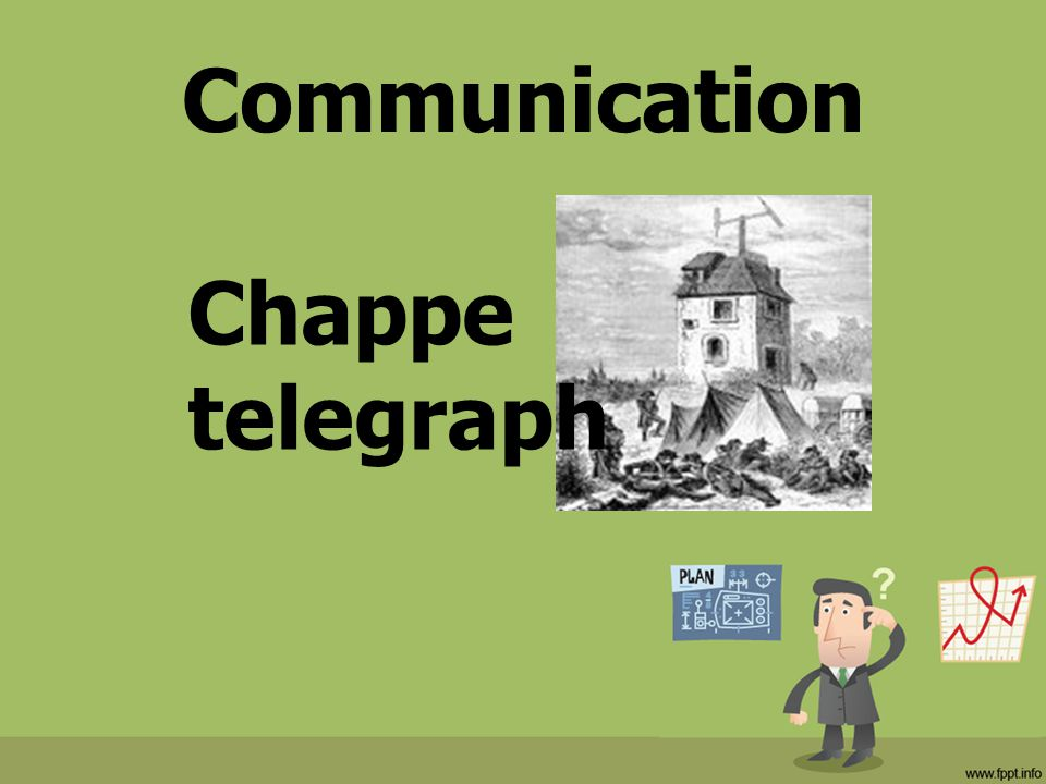 Communication Chappe telegraph