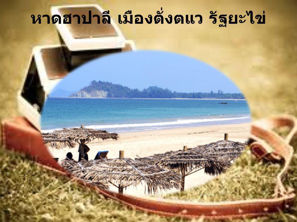 หาดฮาปาลี เมืองตั่งตแว รัฐยะไข่