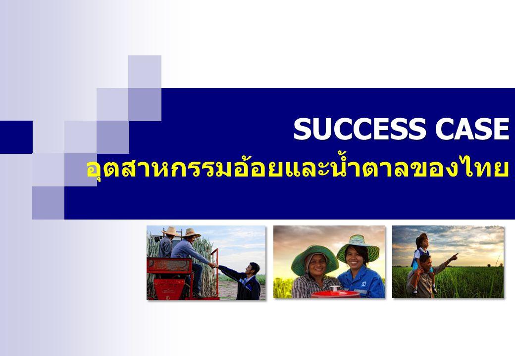 SUCCESS CASE อุตสาหกรรมอ้อยและน้ำตาลของไทย