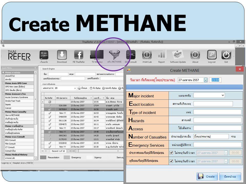 Create METHANE