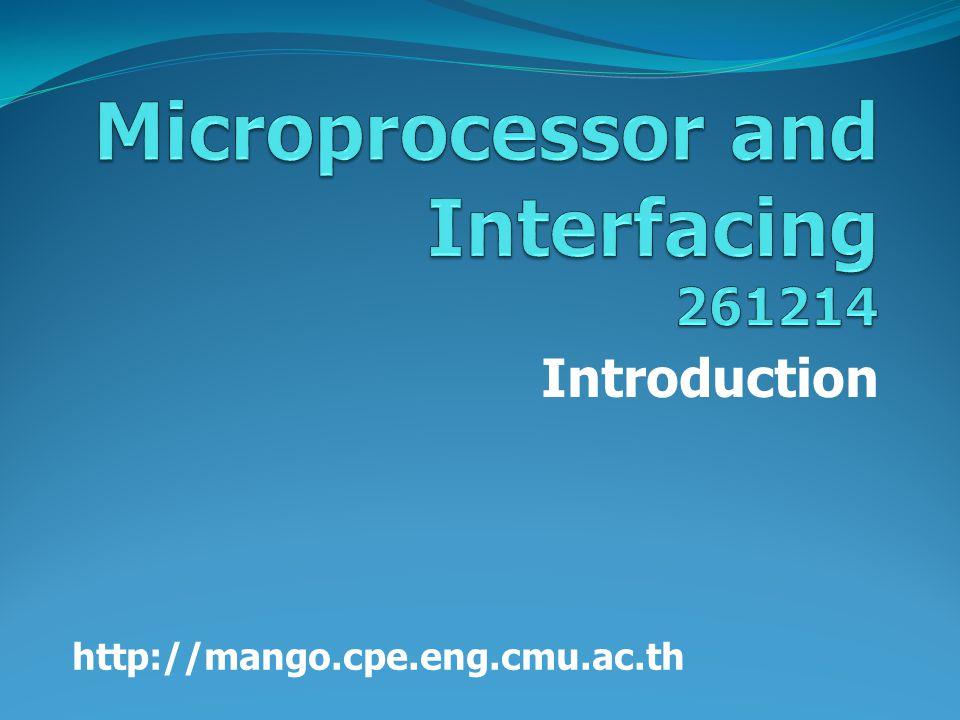 Introduction http://mango.cpe.eng.cmu.ac.th