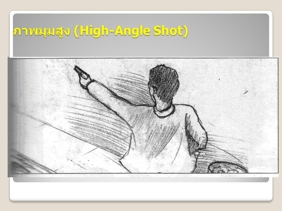 ภาพมุมสูง (High-Angle Shot)