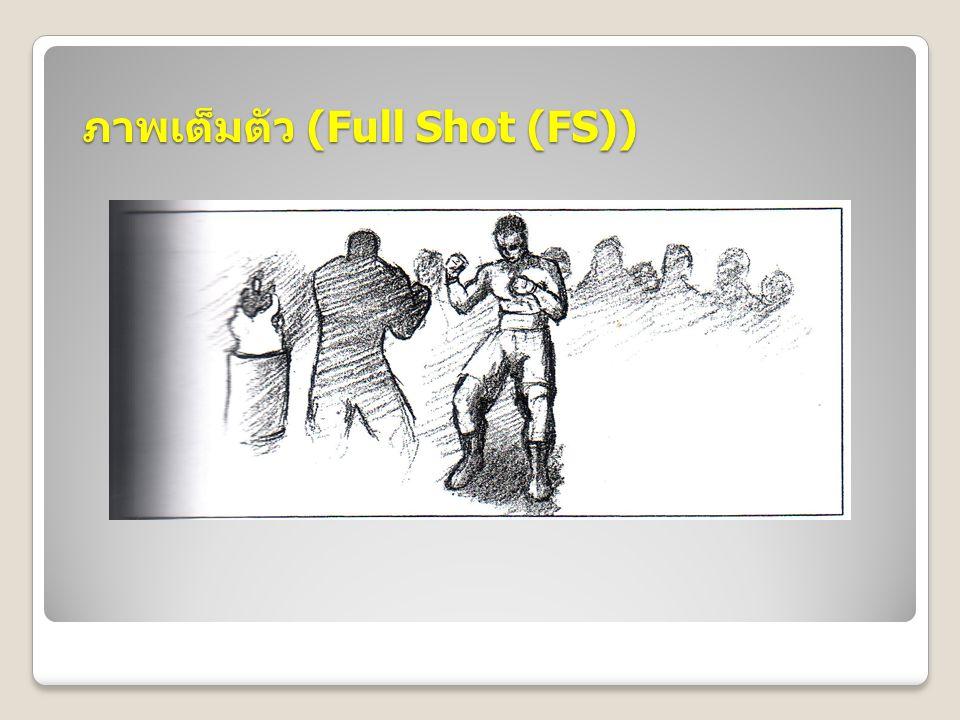 ภาพเต็มตัว (Full Shot (FS))