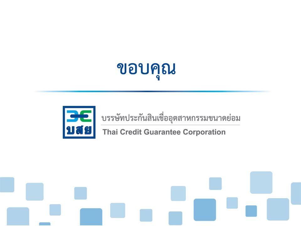 บรรษัทประกันสินเชื่ออุตสาหกรรมขนาดย่อม Thai Credit Guarantee Corporation