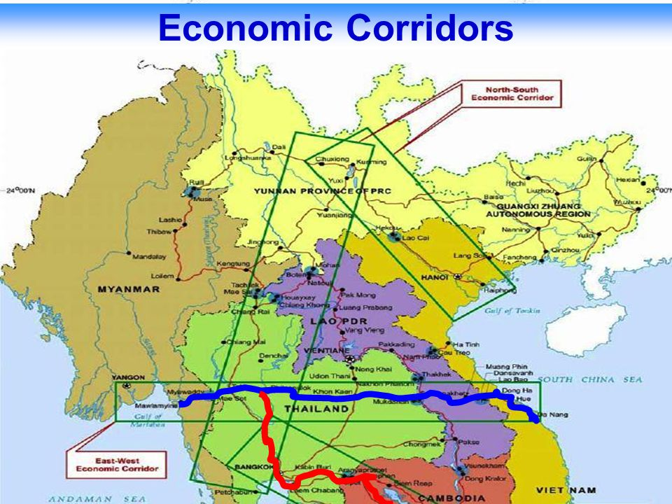Transport Facilitation among ACMECS member countries on East-West Economic Corridor and Southern Economic Corridor