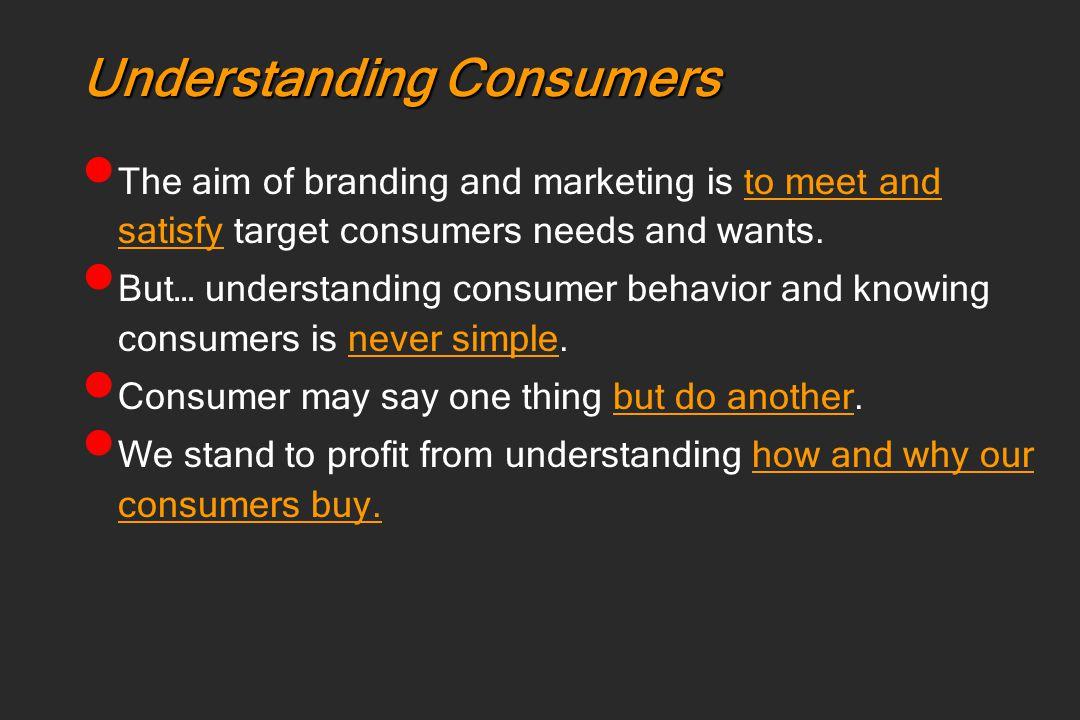 Understanding Consumers Awareness Perception Understanding Knowledge Insight