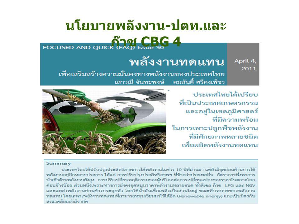 ประเทศไทยมีการพึ่งพาการนำเข้าด้านพลังงานอยู่ใน ระดับสูงและมีจุดอ่อนหลายประการ