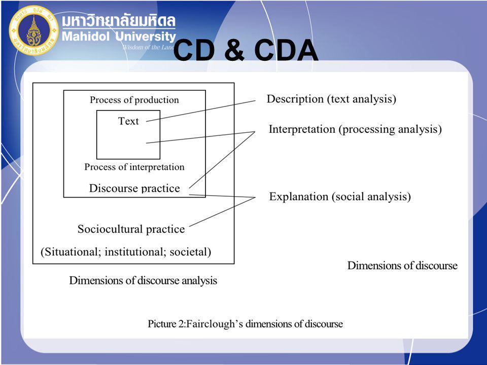 CD & CDA