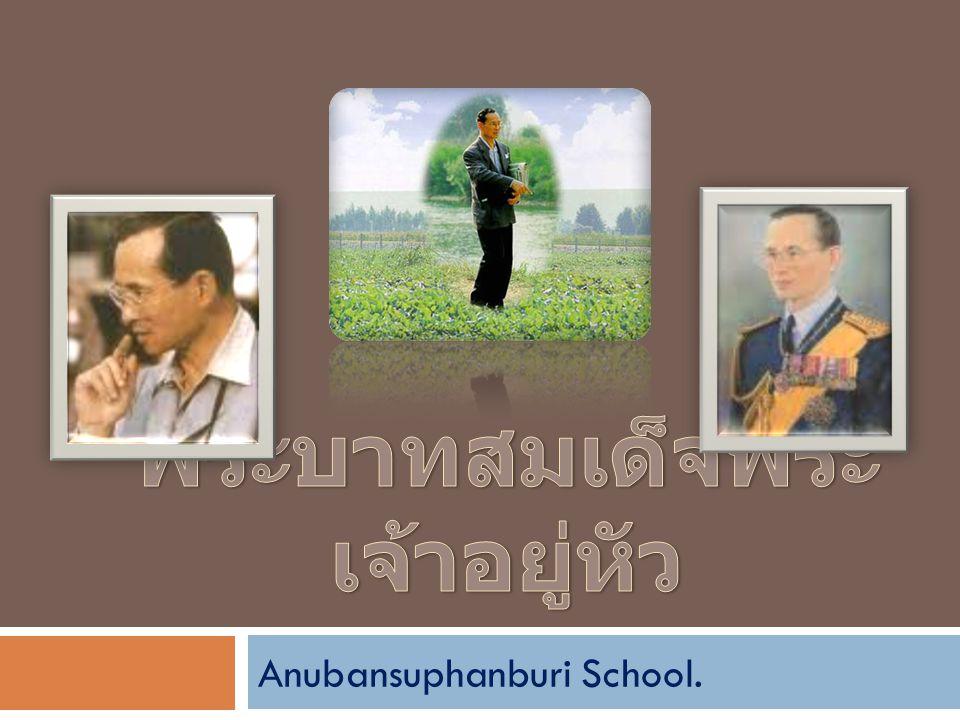 Anubansuphanburi School.