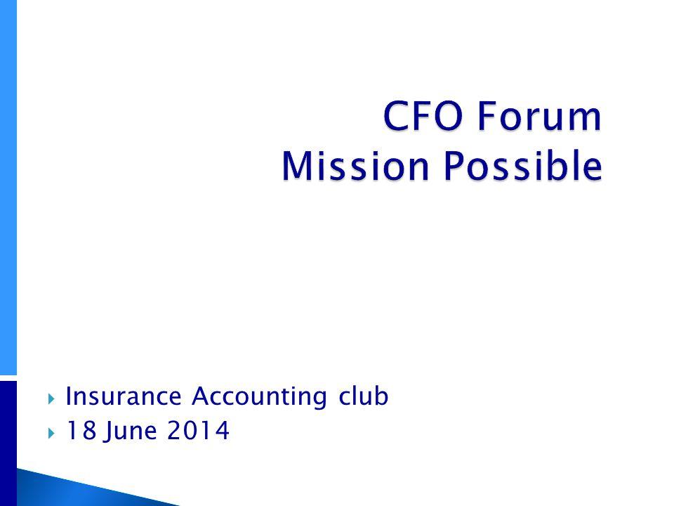  Insurance Accounting club  18 June 2014