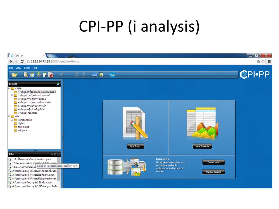 CPI-PP output