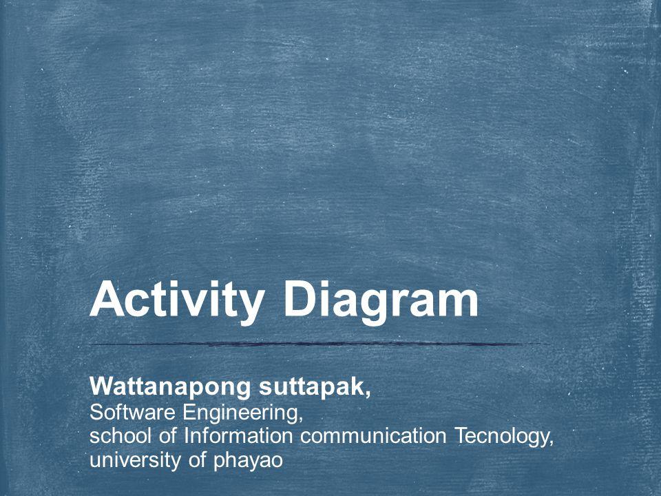 1.เข้าใจจุดประสงค์การสร้าง activity diagram 2. สามารถค้นหา activity diagram ที่ เหมาะสมได้ 3.