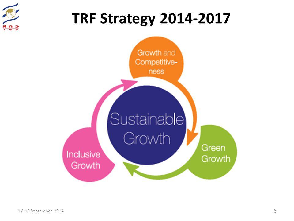 5 TRF Strategy 2014-2017