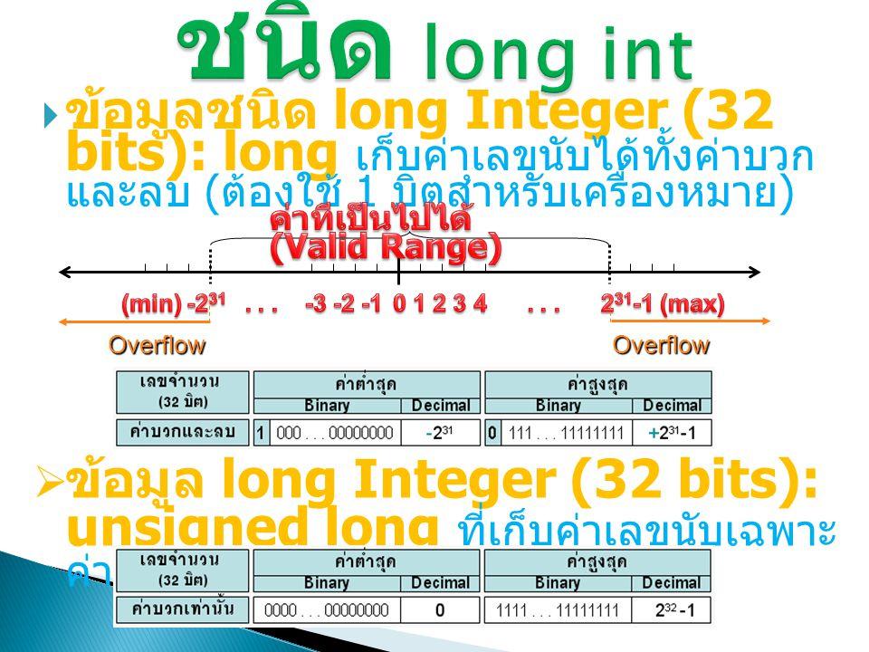 29 #include void main() { int Day, Year; char Month[20], c1, c2, c3; printf( Enter Day: ); scanf( %d , &Day); printf( Enter Month: ); scanf( %s , &Month); printf( Enter Year : ); scanf( %d , &Year) ตัวอย่าง 3.8  เขียนโปรแกรมรับข้อมูล วัน (Day) เดือน (Month) ปี (Year) เช่น 1, November, 2010 และแสดงผล Month day, year และอักษรย่อของ เดือน ผลลัพธ์ Enter Day : _ 1 Date is November 1, 2010 Enter Month (in string) : _November Enter Year : _ 2010 printf( Date is %s %d, %d\n , Month, Day, Year); printf( %s => %c%c%c\n , Month, c1, c2, c3); } November => Nov c1 = Month[0]; c2 = Month[1]; c3 = Month[2];