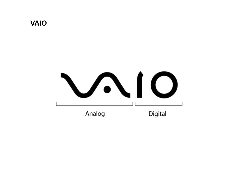 ให้ดูคำว่า VAIO ในโลโก้ จะเป็นสองคำแรก VA จะ เป็นสัญลักษณ์ของสัญญาณอนาล็อค และ IO จะ เป็นสัญลักษณ์ไบนารี่ของดิจิตอล