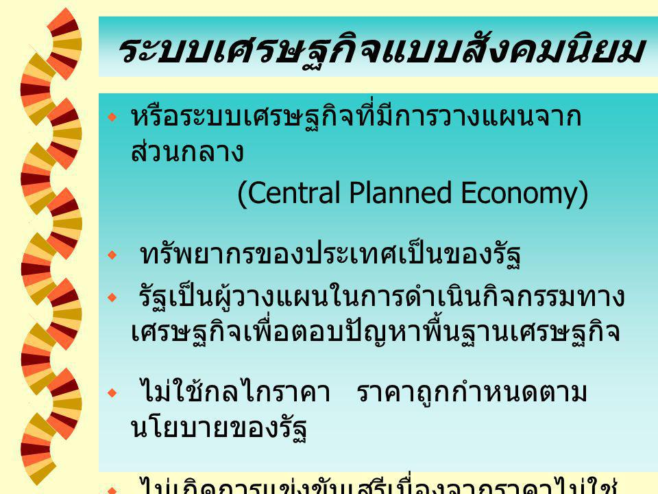 10 ข้อเสีย  กิจกรรมบางอย่างใช้กลไกราคาเป็นเครื่องมือ แก้ปัญหาพื้นฐาน ทางเศรษฐกิจไม่ได้ เช่น สินค้าสาธารณะ  นายทุน หรือผู้มีอิทธิพลทางการเมืองสามารถ